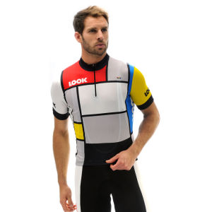 Look Heritage SS Cycling Jersey - La Vie Claire