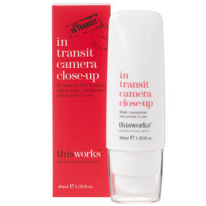 this works In Transit Camera Close-Up masque, base de tein et hydratant tout-en-un (40ml)