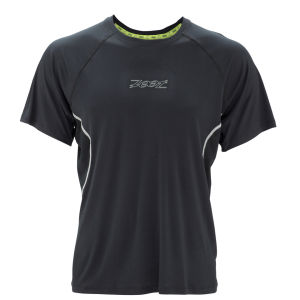 Zoot Men's Performance Run Tee - Black/Graphite