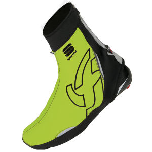 Sportful Wind Stopper Booties Reflex - Black/Yellow