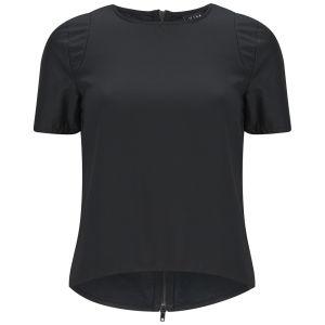 VILA Women's Flaunty Top - Black