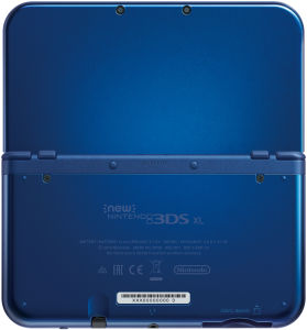 NEW 3DS XL Metallic Blue Console - Includes Legend of Zelda: Majora's Mask: Image 5