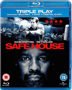 Safe House (Blu-Ray, Digital Copy en UltraViolet Copy)