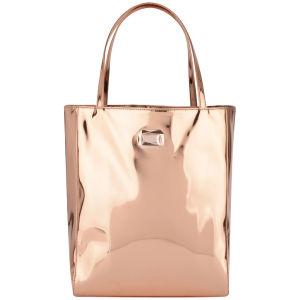 Ted Baker Women's Motia Mirrored Shopper Bag - Rose Gold
