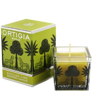 Ortigia Sicilian Lime Square Candle
