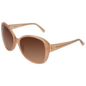 MICHAEL MICHAEL KORS Women's Edie MK Logo Arm Sunglasses - Nude