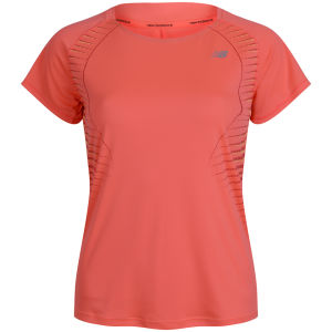 New Balance Women's NBX T-Shirt - Fiery Coral