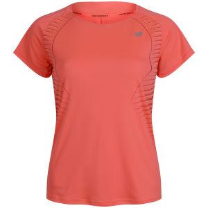 New Balance Women's NBX T-Shirt - Fiery Coral