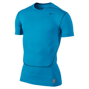 Nike Men's Core Compression Short Sleeve Top 2.0 - Vivid Blue