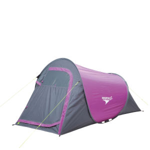 Gelert Quickpitch SS Compact Tent - Purple/Charcoal