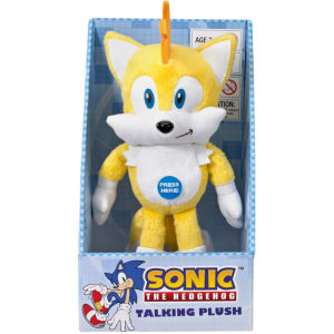 Sonic the Hedgehog 9 Inch Talking Plush - Tails