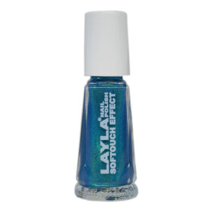 Layla Cosmetics Softouch Effect Nail Polish N.10 Tourquoise Splash (10ml)