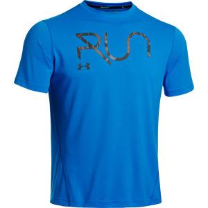 Under Armour Herren Gridlock T-Shirt - Blau/Schwarz