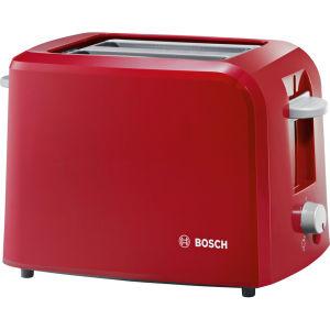 Bosch Vintage 2 Slice Toaster - Red