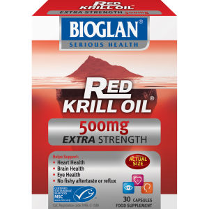Bioglan Red Krill Oil (500 mg) (30 kapsler)