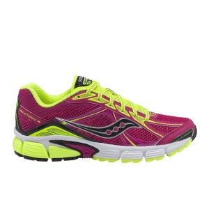 Saucony Women's Ignition 4 Running Shoe - Fuschia/Citron