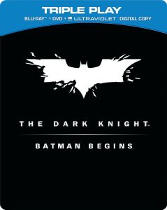 Batman Begins / The Dark Knight - Limited Numbered Steelbook Edition