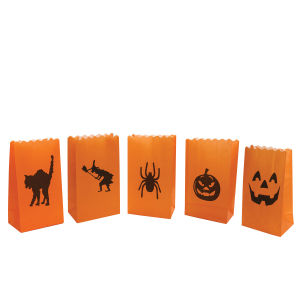 Halloween Candle Bags (10 Pack)