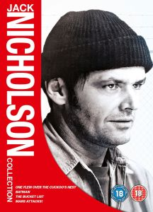 Jack Nicholson Box Set (One Flew Over Cuckoos Nest / Batman / Bucket List / Mars Attacks)