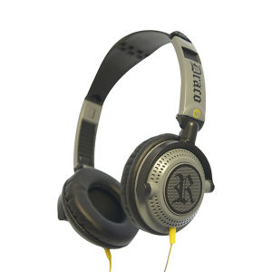 Fischer Audio Draco Headphones with Multifunction Remote and Mic - Grey
