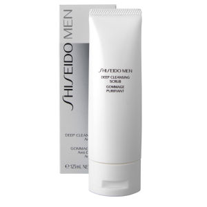 Shiseido Mens Deep Cleansing Scrub (125ml)
