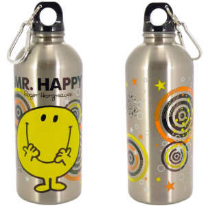 Mr Happy Stainless Steel Water Bottle