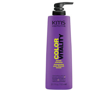 Shampoing cheveux blonds KMS California ColorVitality - Grand format 750ml