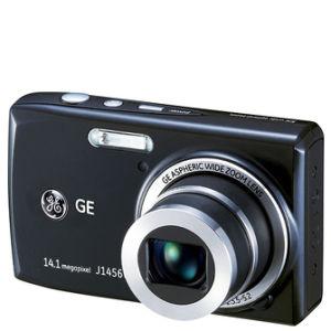 GE J1456W Digital Camera - Black (14MP, 5 x Optical, 2.7 Inch LCD)