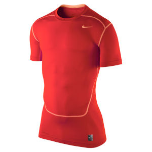 Nike Men's Core Compression Short Sleeve Top 2.0 - Crimson