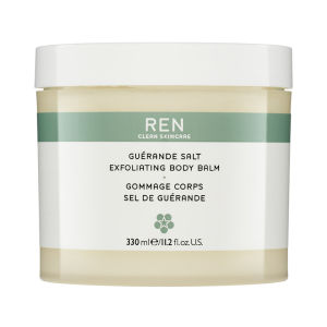 REN Guerande Salt Exfoliating Body Balm (330ml)