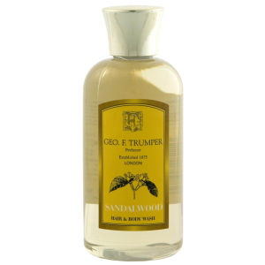 Trumpers Sandalwood Hair & Body Wash - 100ml Travel