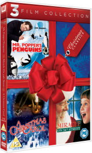 Miracle on 34th Street (1994) / A Christmas Carol (1984) / Mr. Poppers Penguins