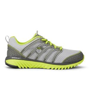 K-Swiss Men's Blade-Light Running Shoes - Silver/Charcoal/Volt Green