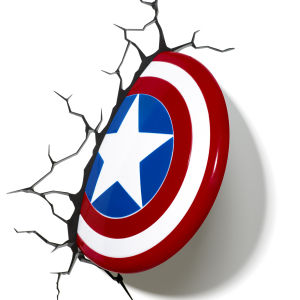 Marvel Captain America Shield 3D Light