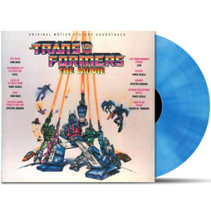 Transformers: The Movie OST (1LP) - Zavvi Exclusive Limited Coloured Blue Vinyl (250 Copies In The UK Only)