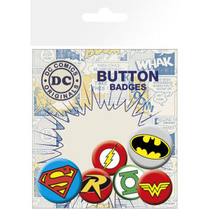DC Comics Logos - Badge Pack