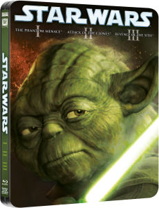 Star Wars Prequel Trilogy - Limited Edition Steelbook