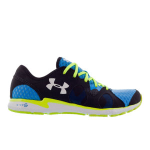 Under Armour Men's Neo Mantis Trainers - Electric Blue/High-Vis Yellow/White