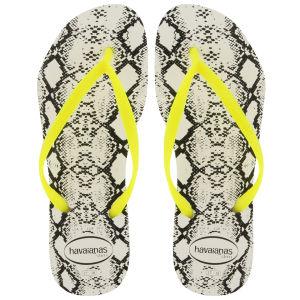 Havaianas Women's Slim Animal Print Flip Flops - Snake