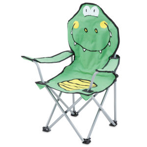 Gelert Kids Antic Chairs - Green Crocodile
