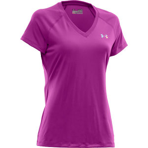 Under Armour Women's Tech T-Shirt - Strobe/Iridescent Blue