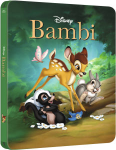 Bambi - Zavvi Exclusive Limited Edition Steelbook with Gloss Finish (The Disney Collection #13)