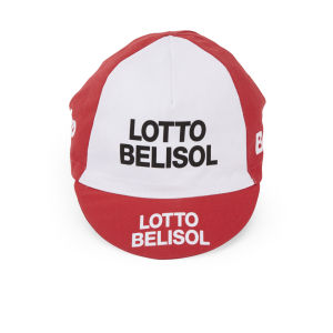 Lotto Belisol Team Replica Cotton Cap - Red - One Size 2014