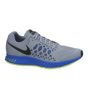 Nike Men's Zoom Pegasus 31 Running Shoes - Grey/Blue