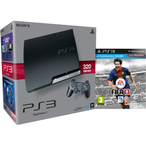 Playstation 3 PS3 Slim 320GB Console: Bundle (Includes FIFA 13)