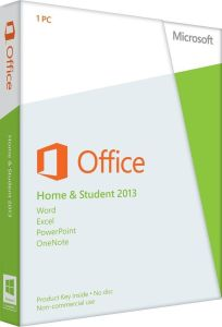 Microsoft Office Home and Student 2013 - 1 PC