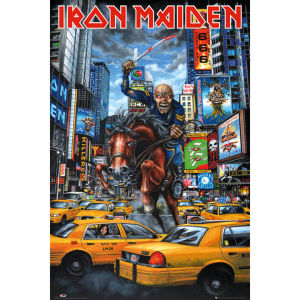 Iron Maiden New York - Maxi Poster - 61 x 91.5cm