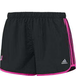 adidas Women's Aktivak Pink Ribbon M10 Short - Black/Intense Pink