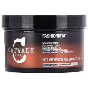 TIGI Catwalk Fashionista masque cheveux bruns (580g)