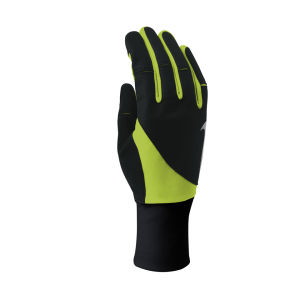 Nike Men's Storm Fit Running Gloves - Black/Volt